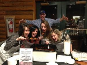 The ladies of Star 100.7 FM.. Shelley, Kelly, Elista and Melanie
