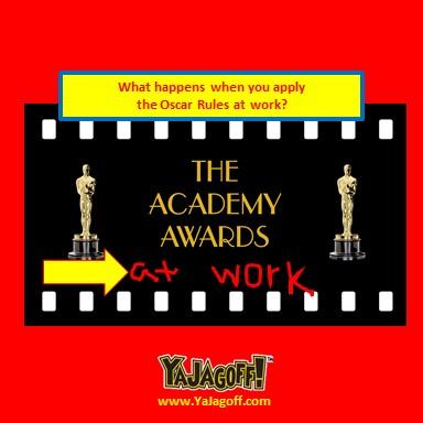 How We Can Use Oscar Awards at Work