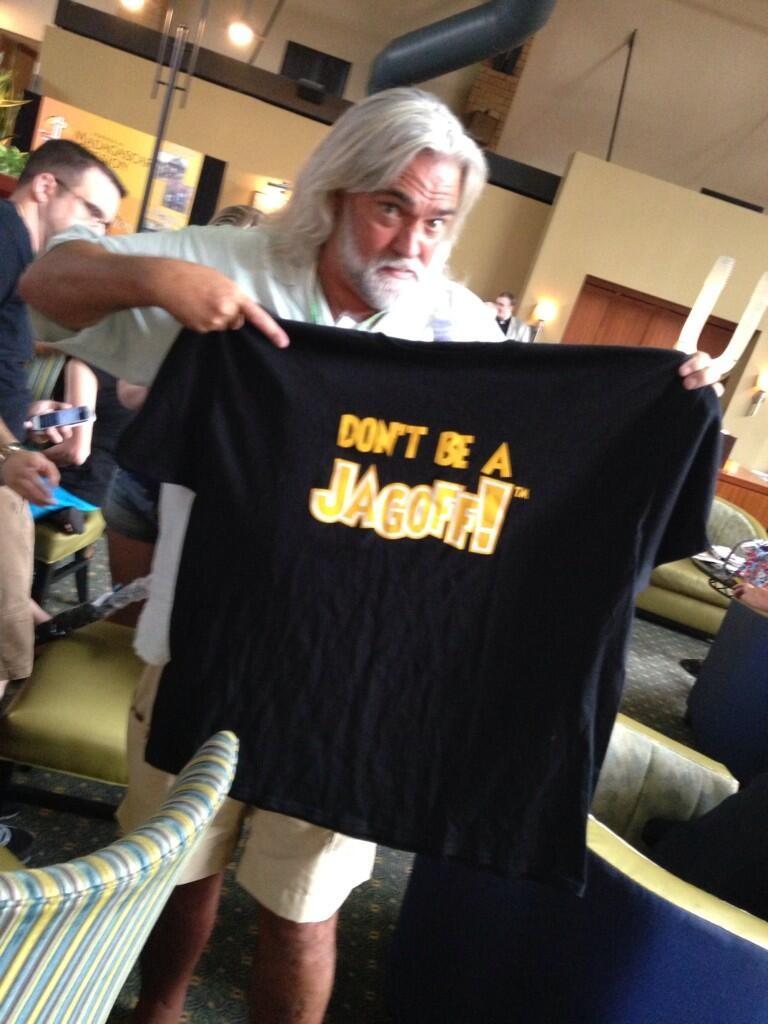 BillHoldingTshirt