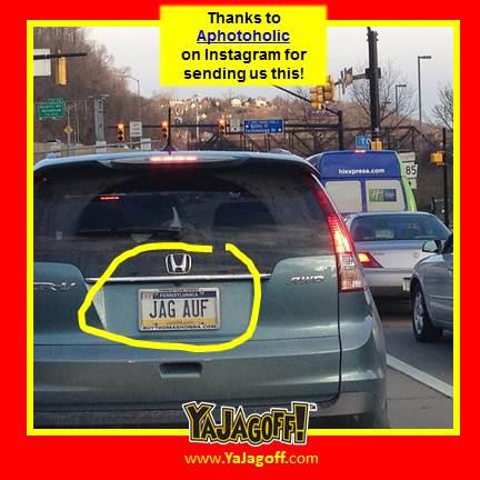 ya jagoff!!! | jagoff license plates banned in pa
