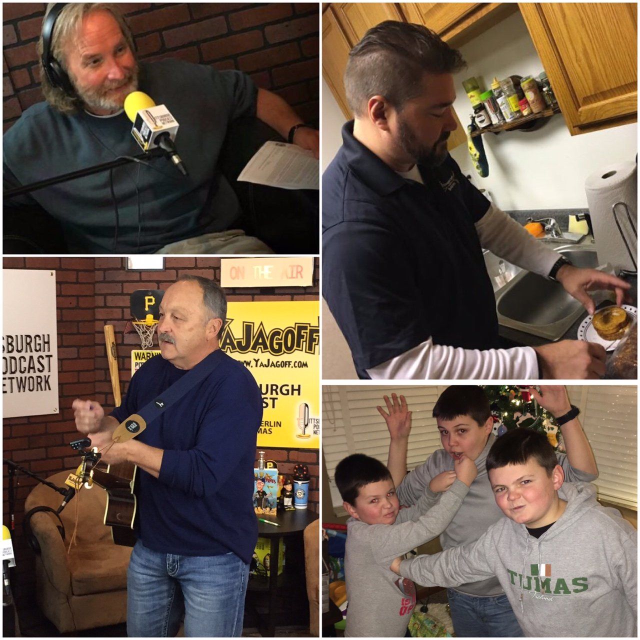 YaJagoff Podcast, Sean McDowell, Brian Trottier, Scott Baker, 5 Generations Bakers