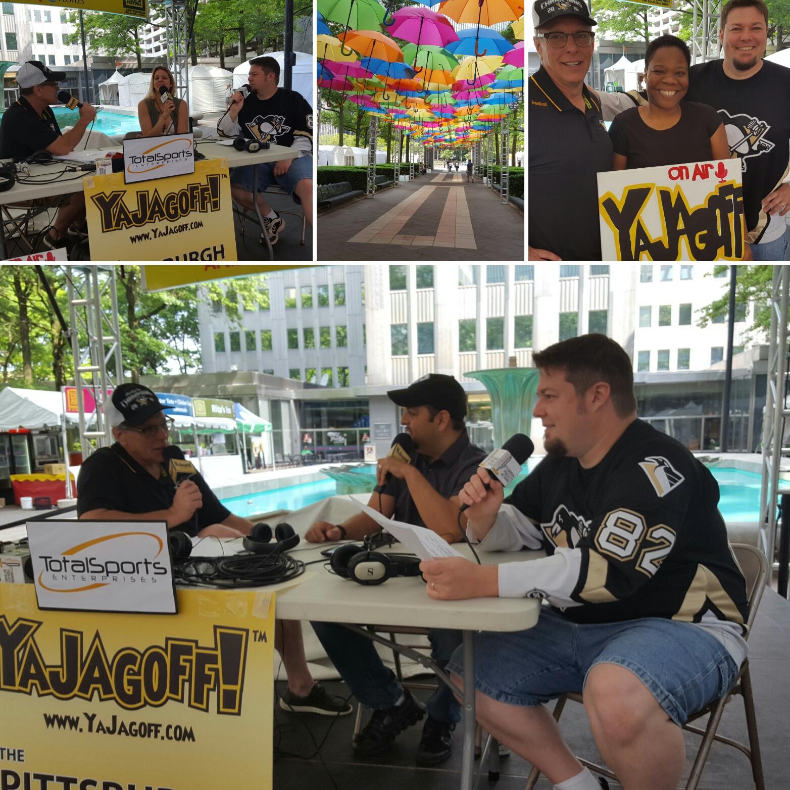 YaJagoff Podcast, 3 Rivers Arts Festival, Pittsburgh, Jagoff, YaJagoff, Douglas Derda, Should I Drink That, Yinz Love BBQ,