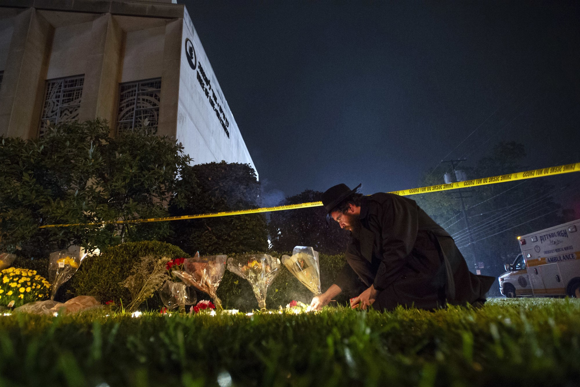 Tree of Life Synagogue, Pittsburgh, Squirrel Hill shooting