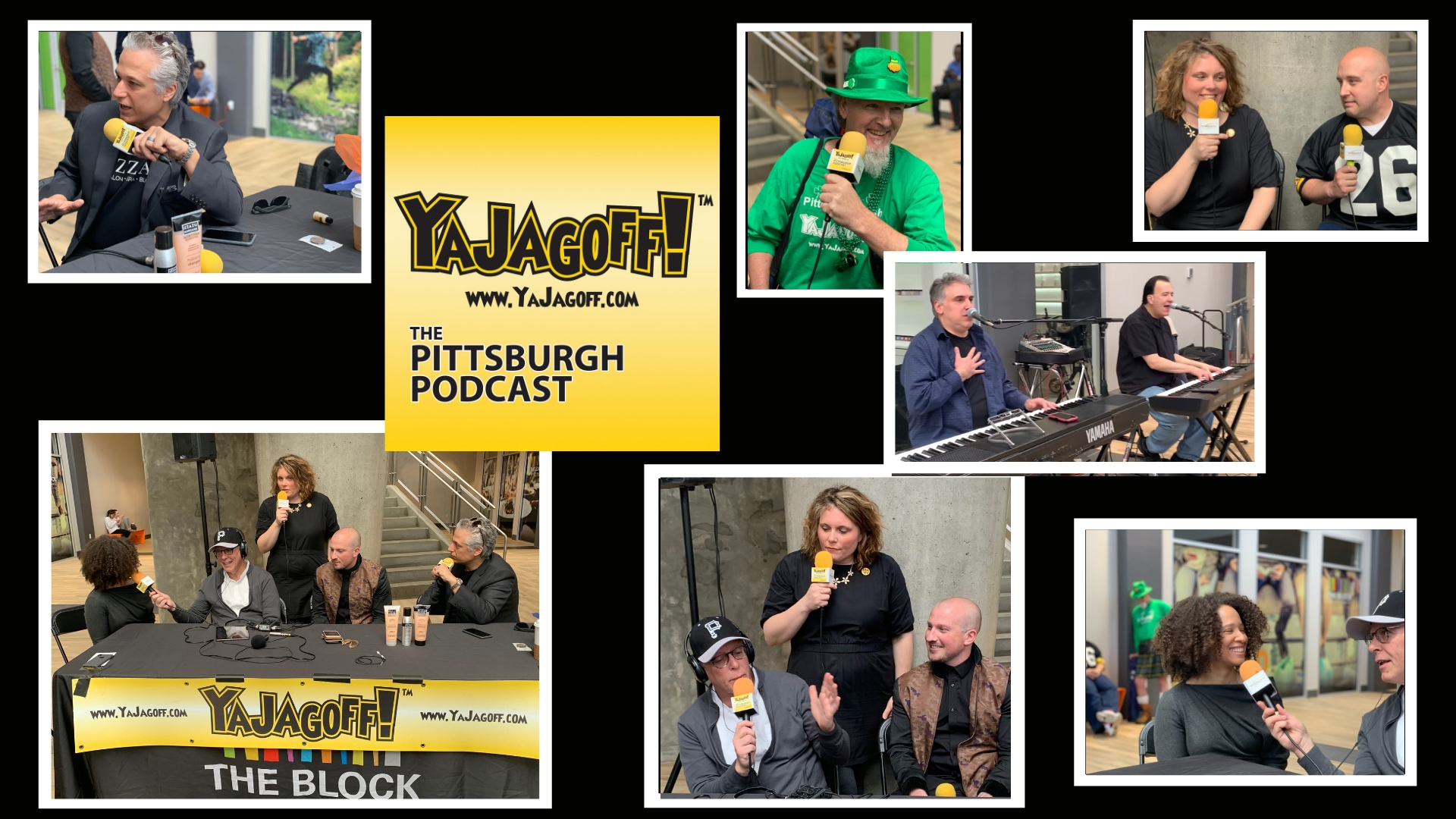 YaJagoff Podcast Fashion Show