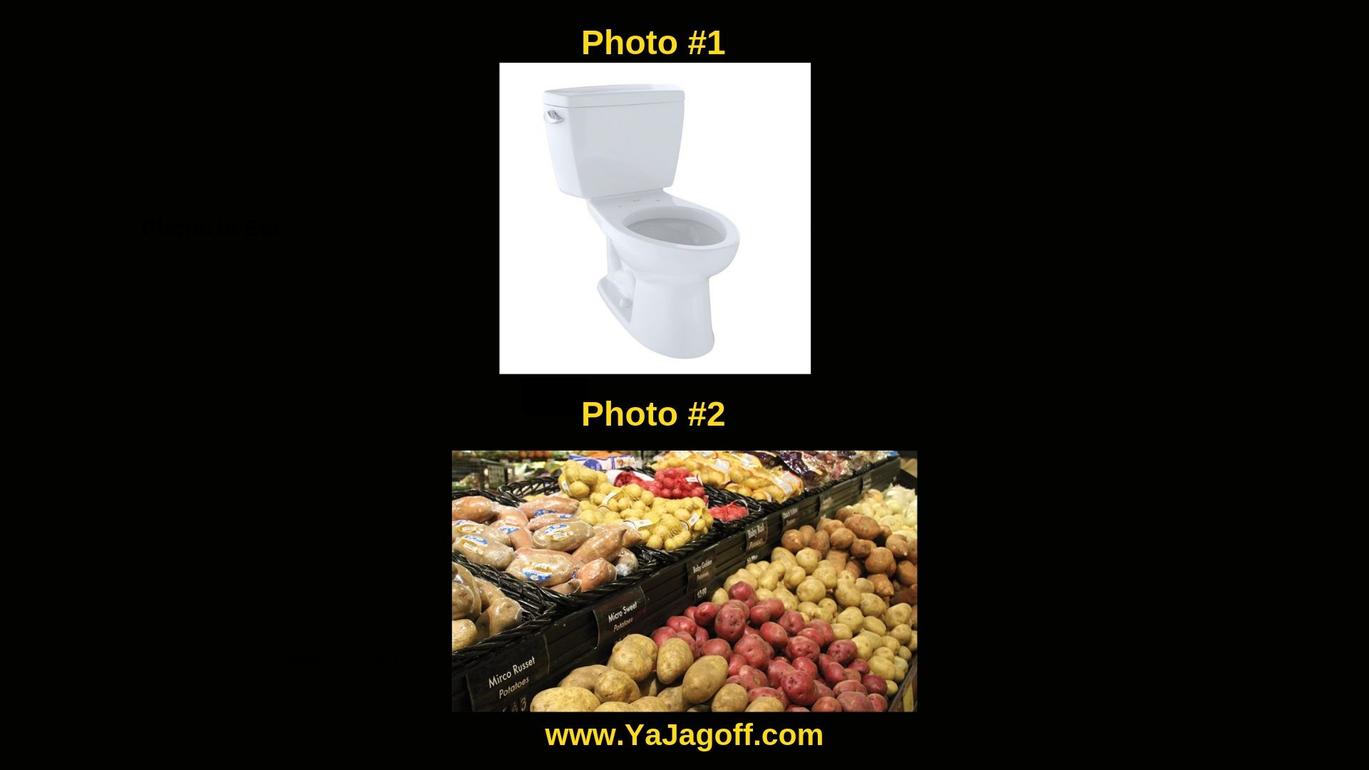 YaJagoff Potato