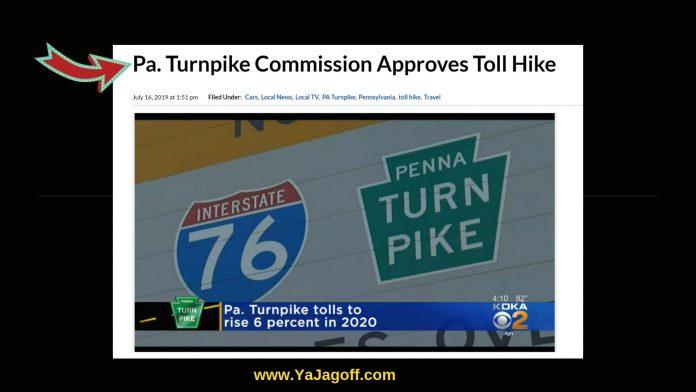 PA Turnpike Toll Hike, Jagoffs