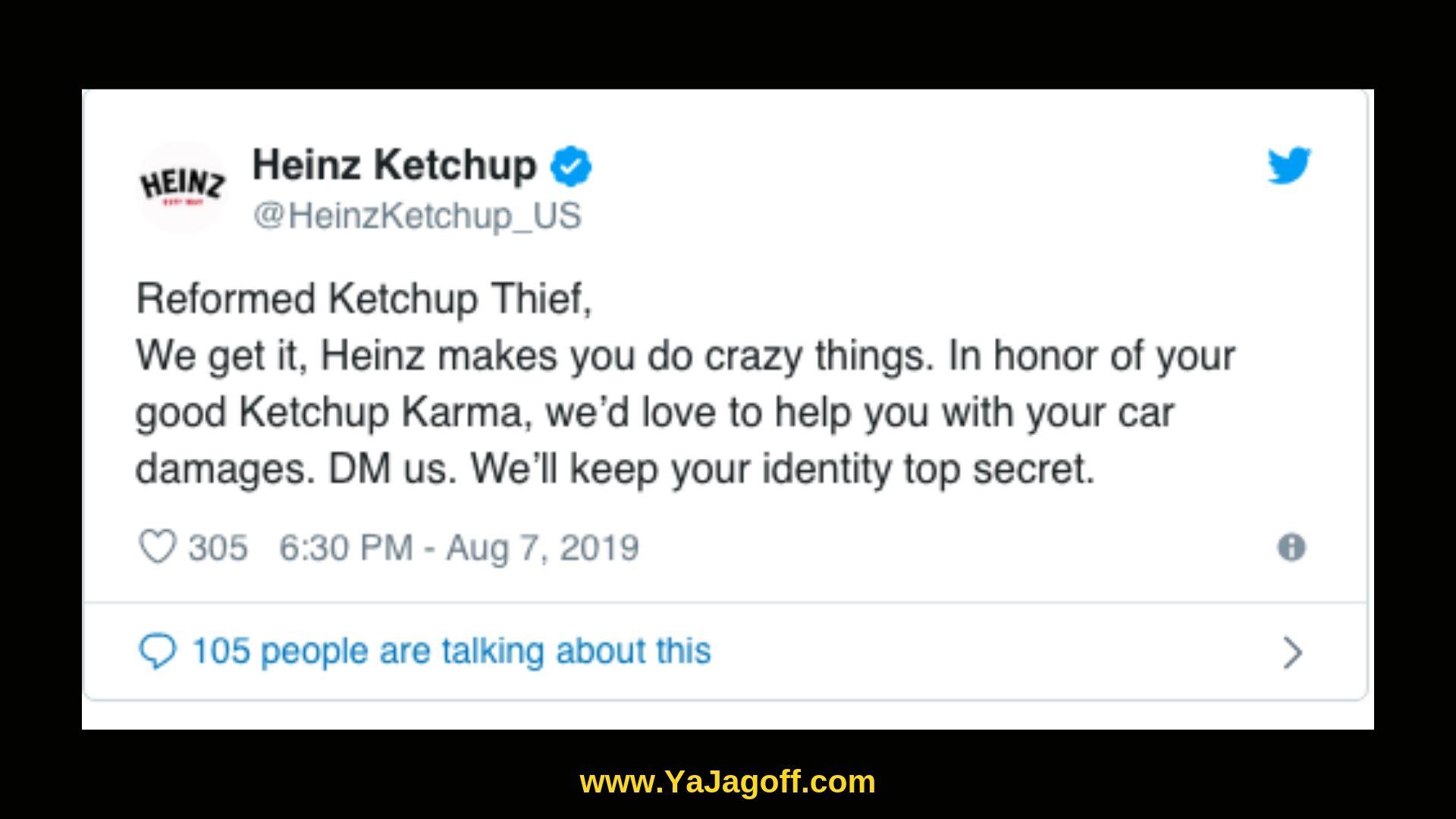 The YaJagoff Podcast Heinz Ketchup