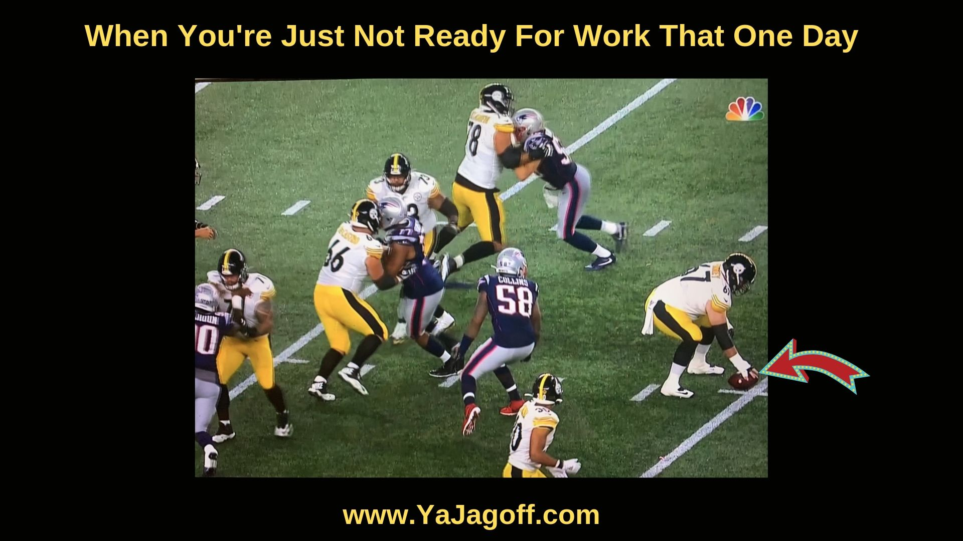 Steelers Lose to Patriots
