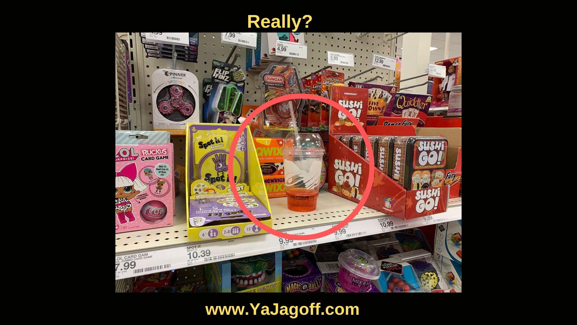 in-store Jagoff with slushy