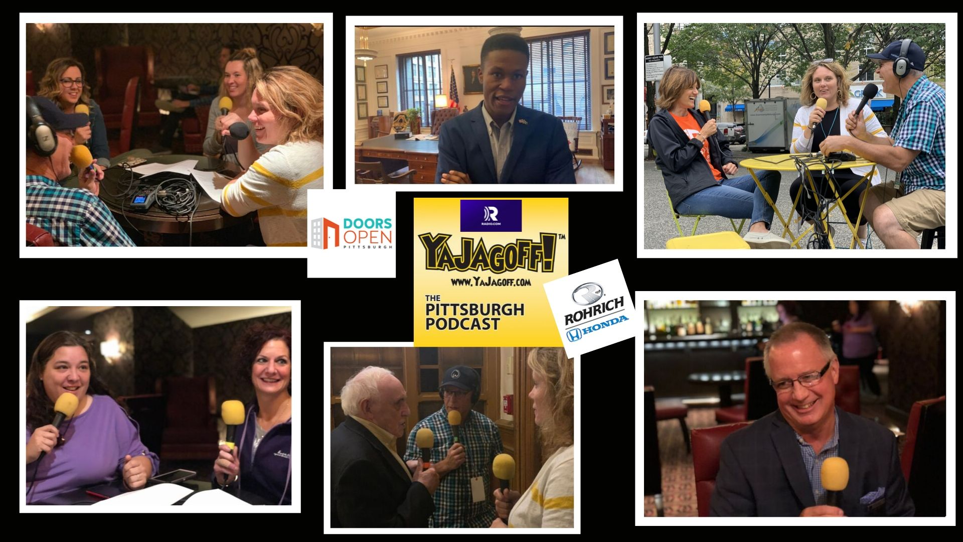 YaJagoff Podcast Collage - Doors Open Pittsburgh