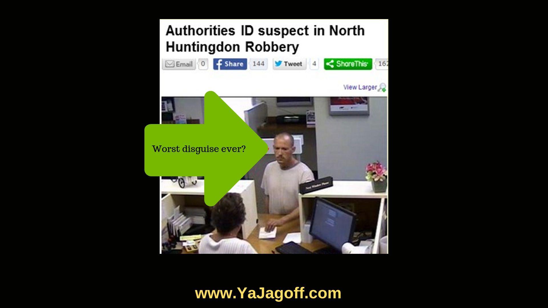 Jagoff Bank Robber