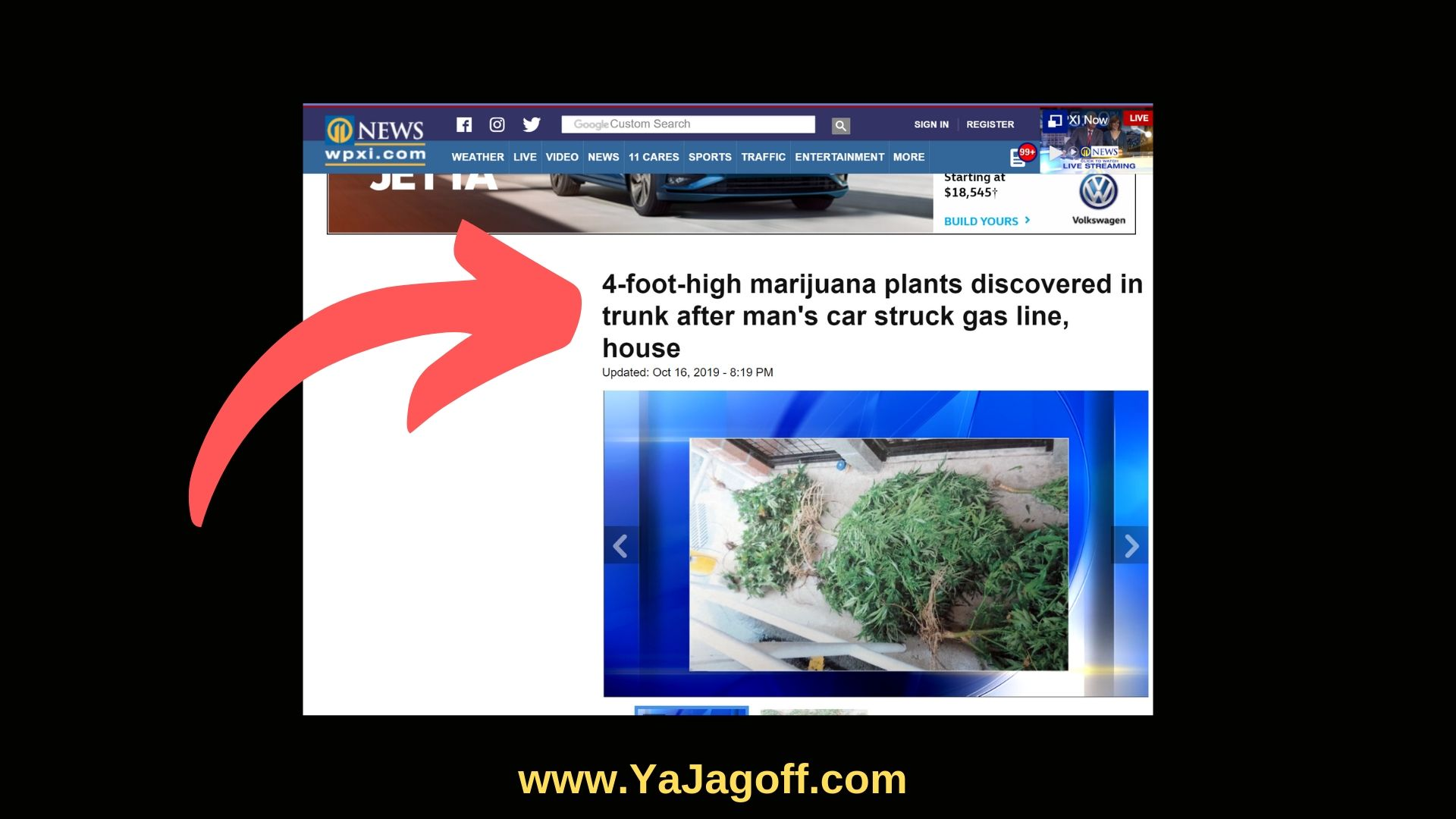 Marijuana Car Jagoffs