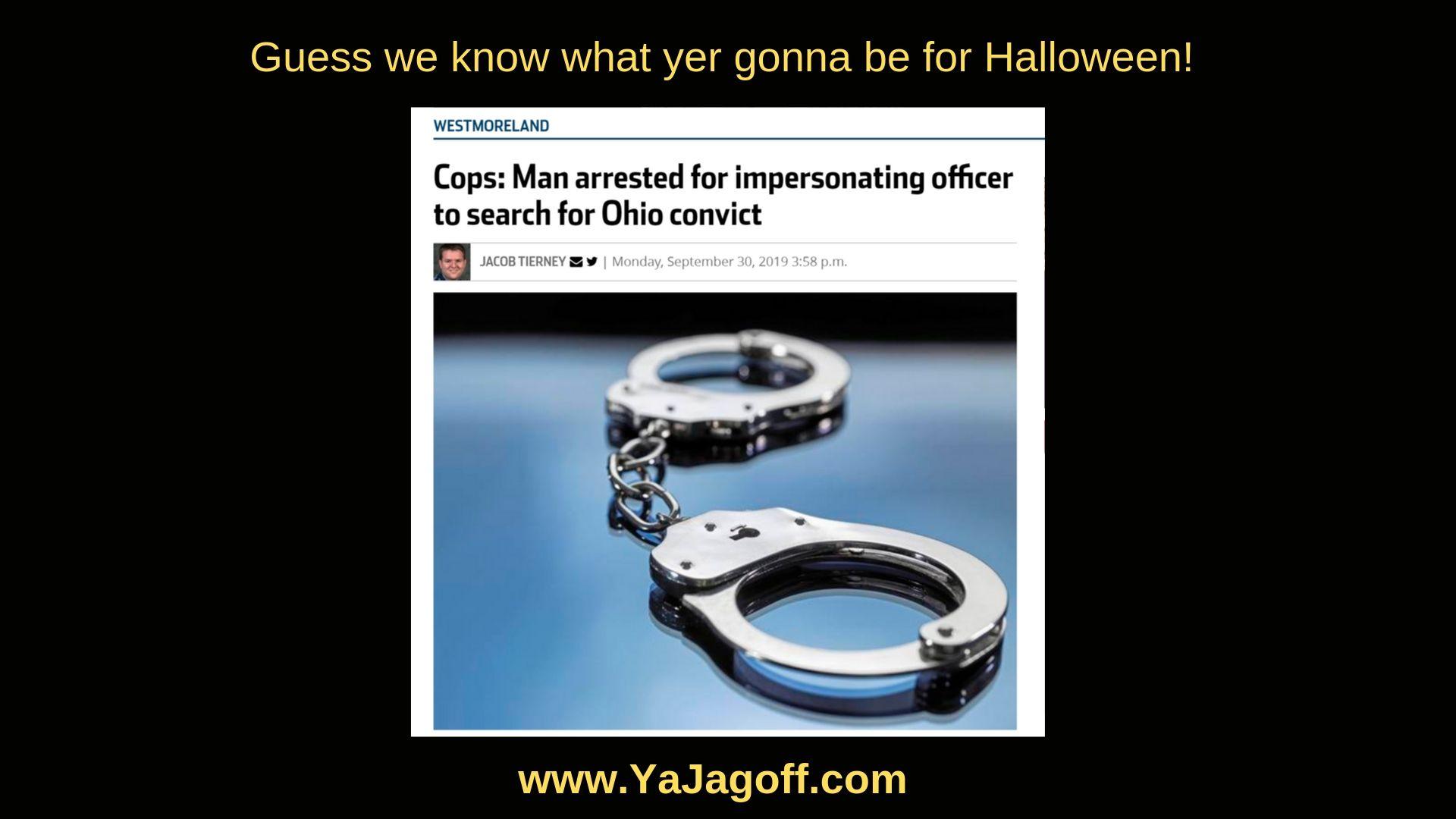 YaJagoff Podcast - Fake Cop