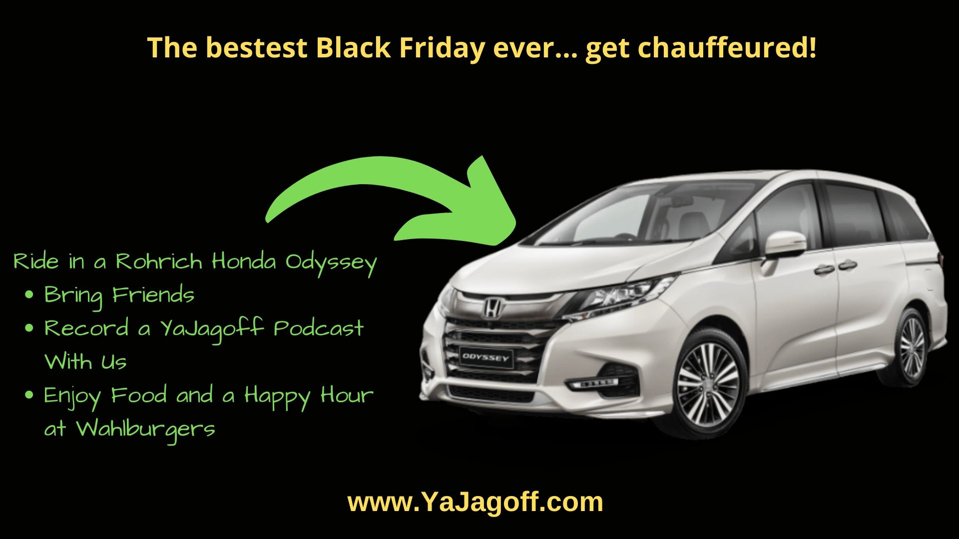 Black Friday With YaJagoff Podcast