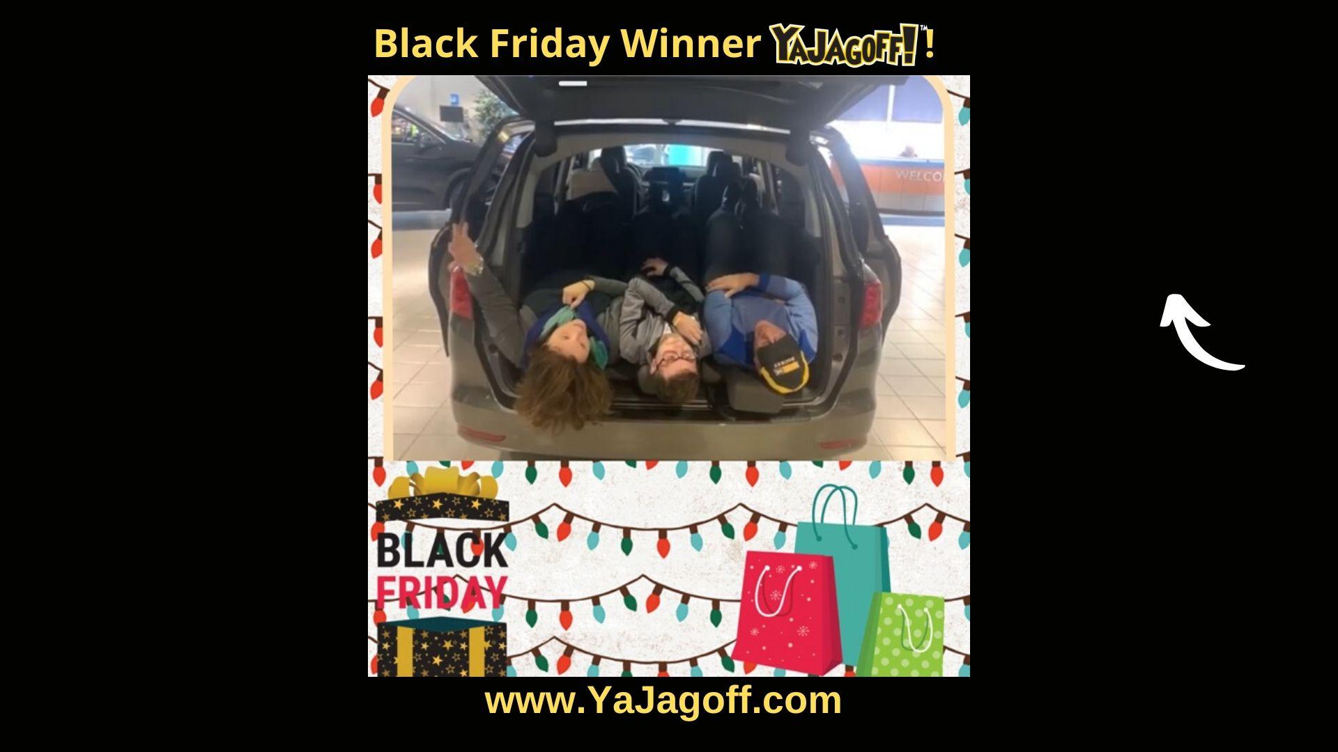 YaJagoff Podcast Black Friday Winner