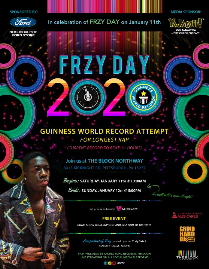 Frzy World Record