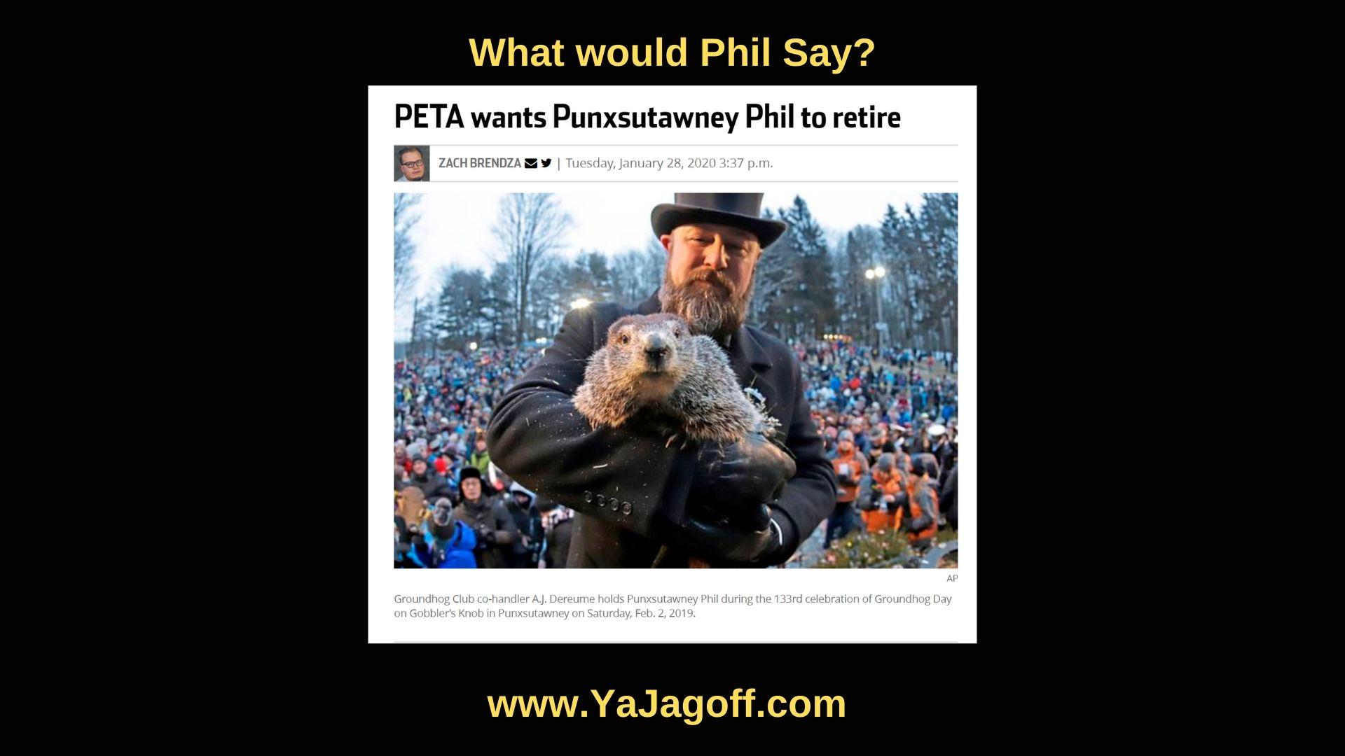 YaJagoff Podcast Punxsutawney Phil