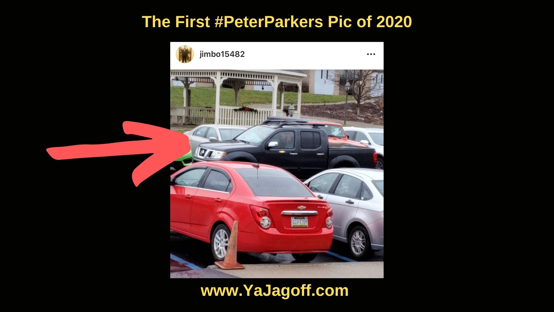 Jagoff Parking #PeterParkers