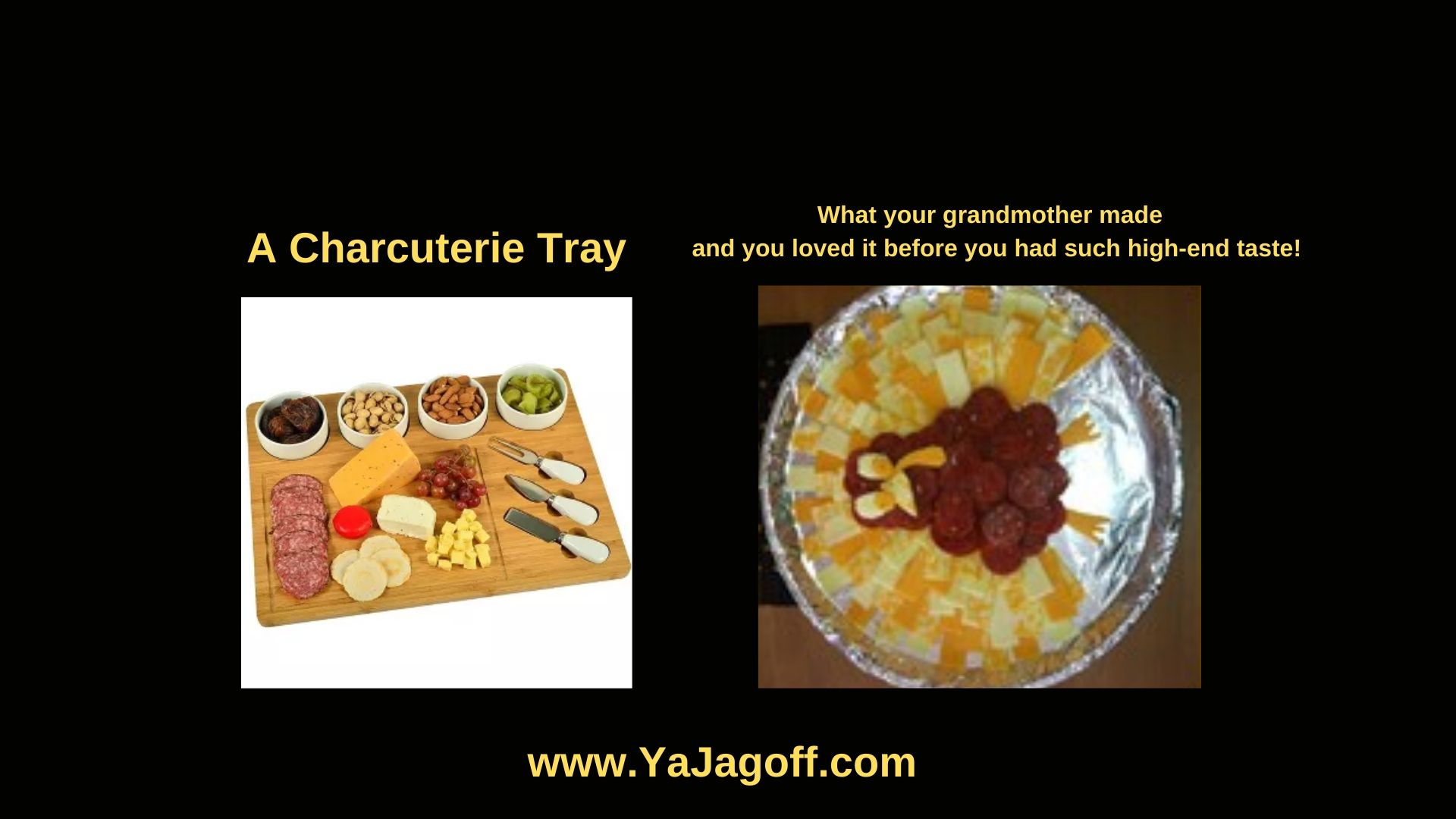 YaJagoff.com about Charcuterie