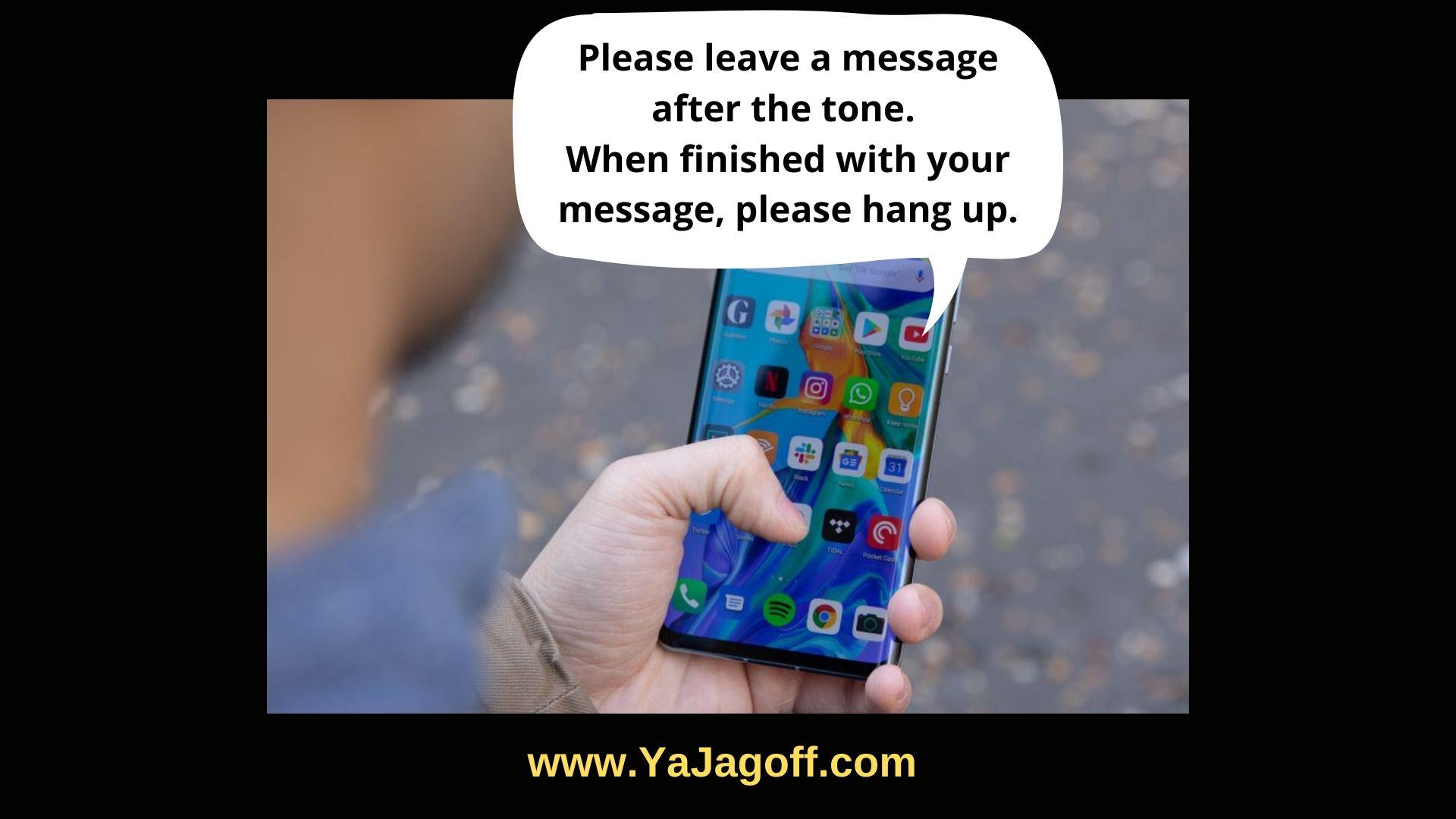 Voicemail Jagoffs