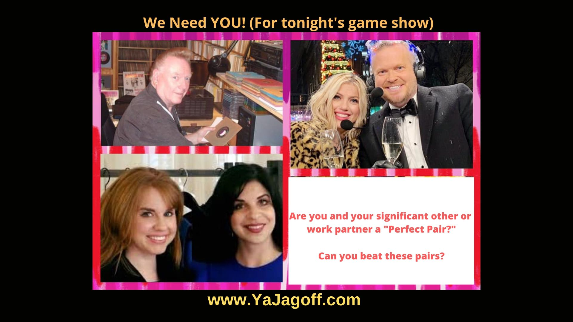 YaJagoff Podcast Game Show
