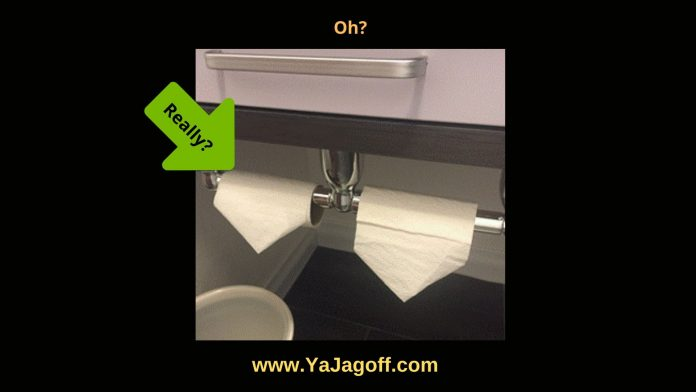 YaJagoff Podcast Toilet Paper