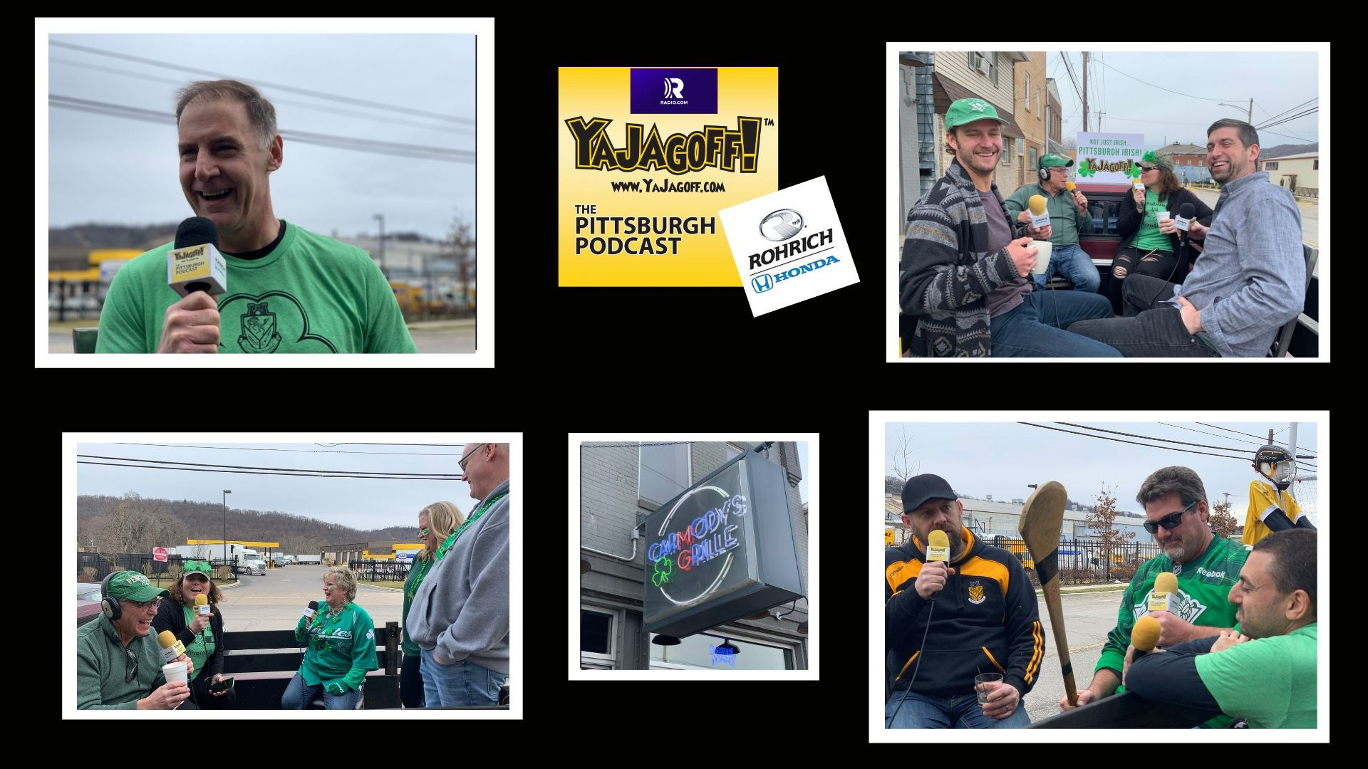 YaJagoff Podcast from Carmody's Grille