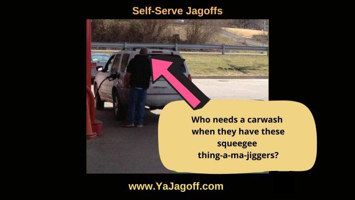 Self Serve Gas Station Jagoffs