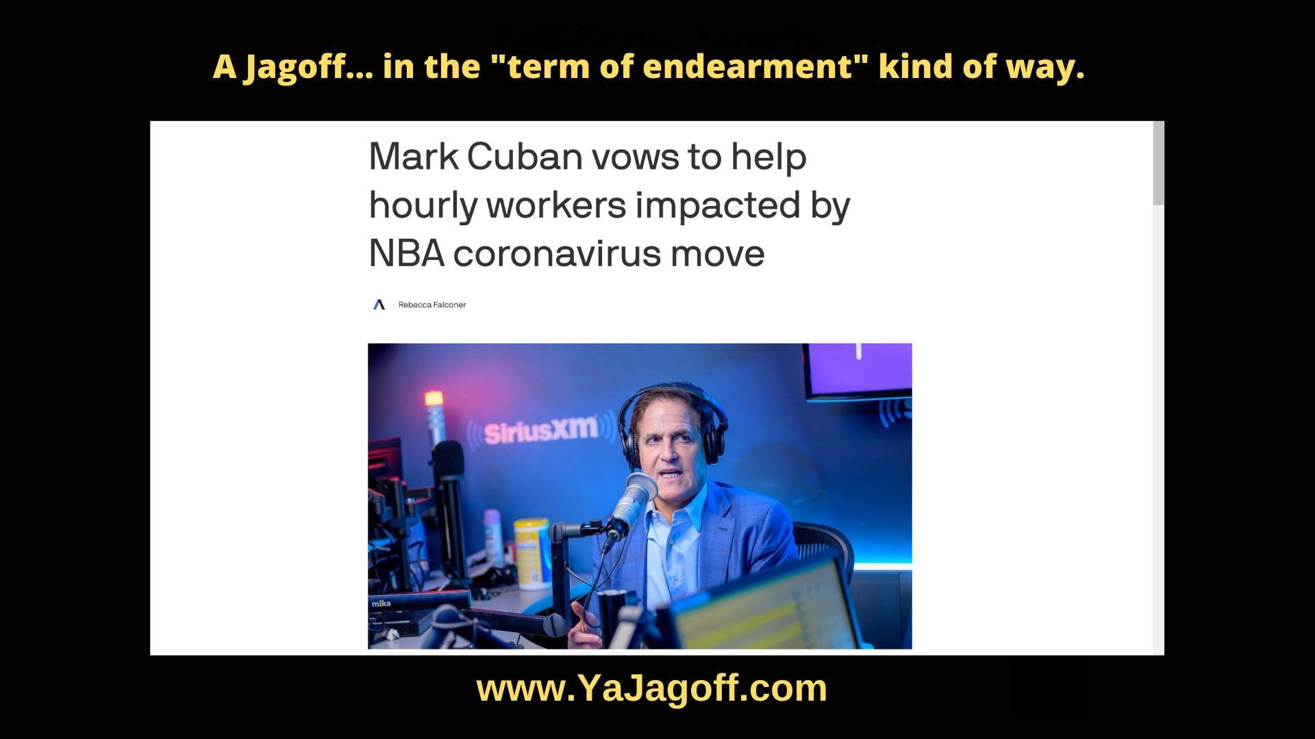MArk Cuban, Caronavirus