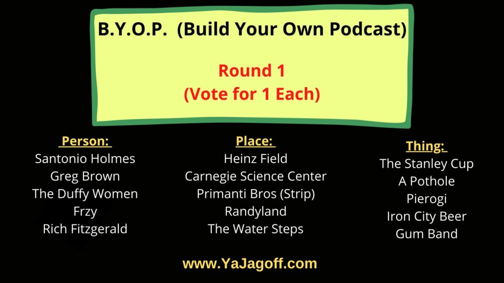 Build Your Own Podcast Round1