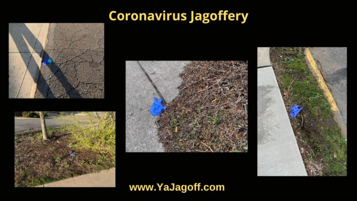 Coronavirus gloves Jagoffs