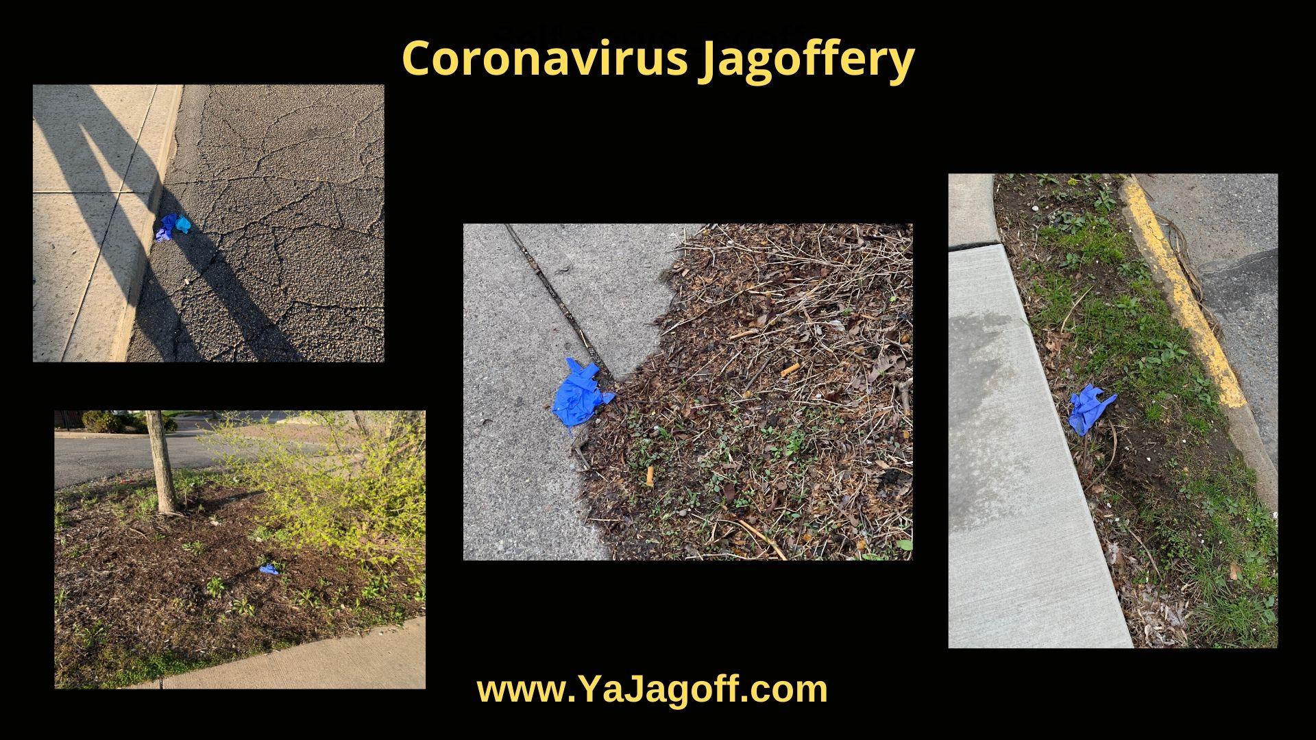 Coronavirus gloves Jagoffs