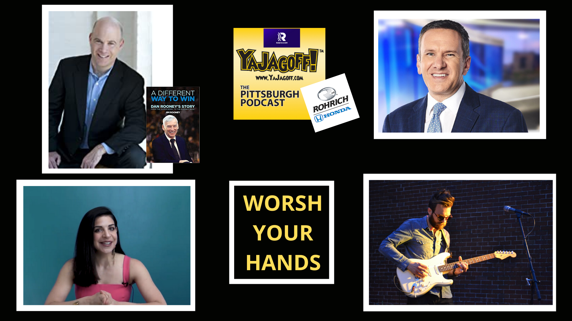 YaJagoff Podcast Collage, Jim Rooney