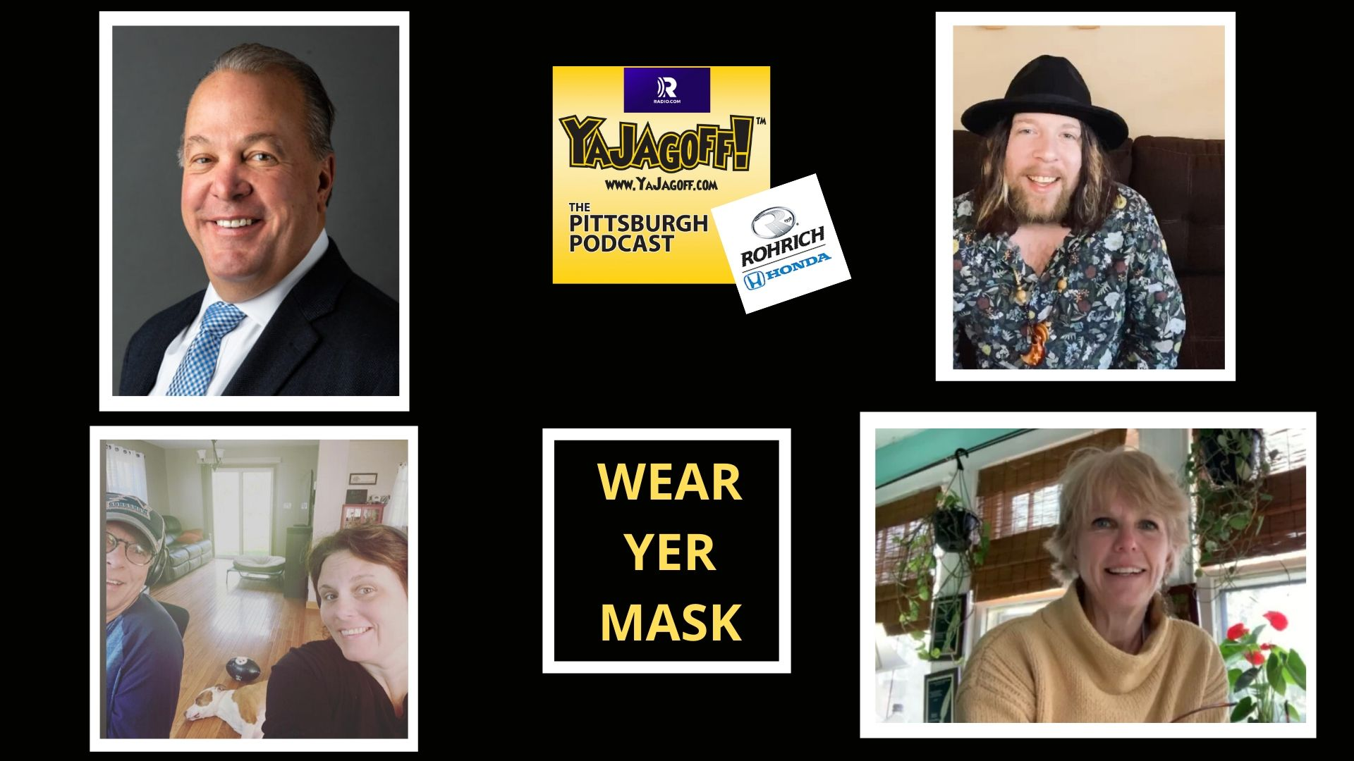 YaJagoff Podcast Collage
