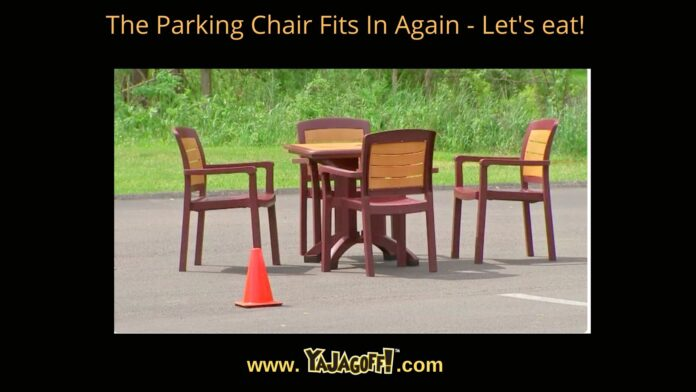 YaJagoff Podcast Parking Chair Dining