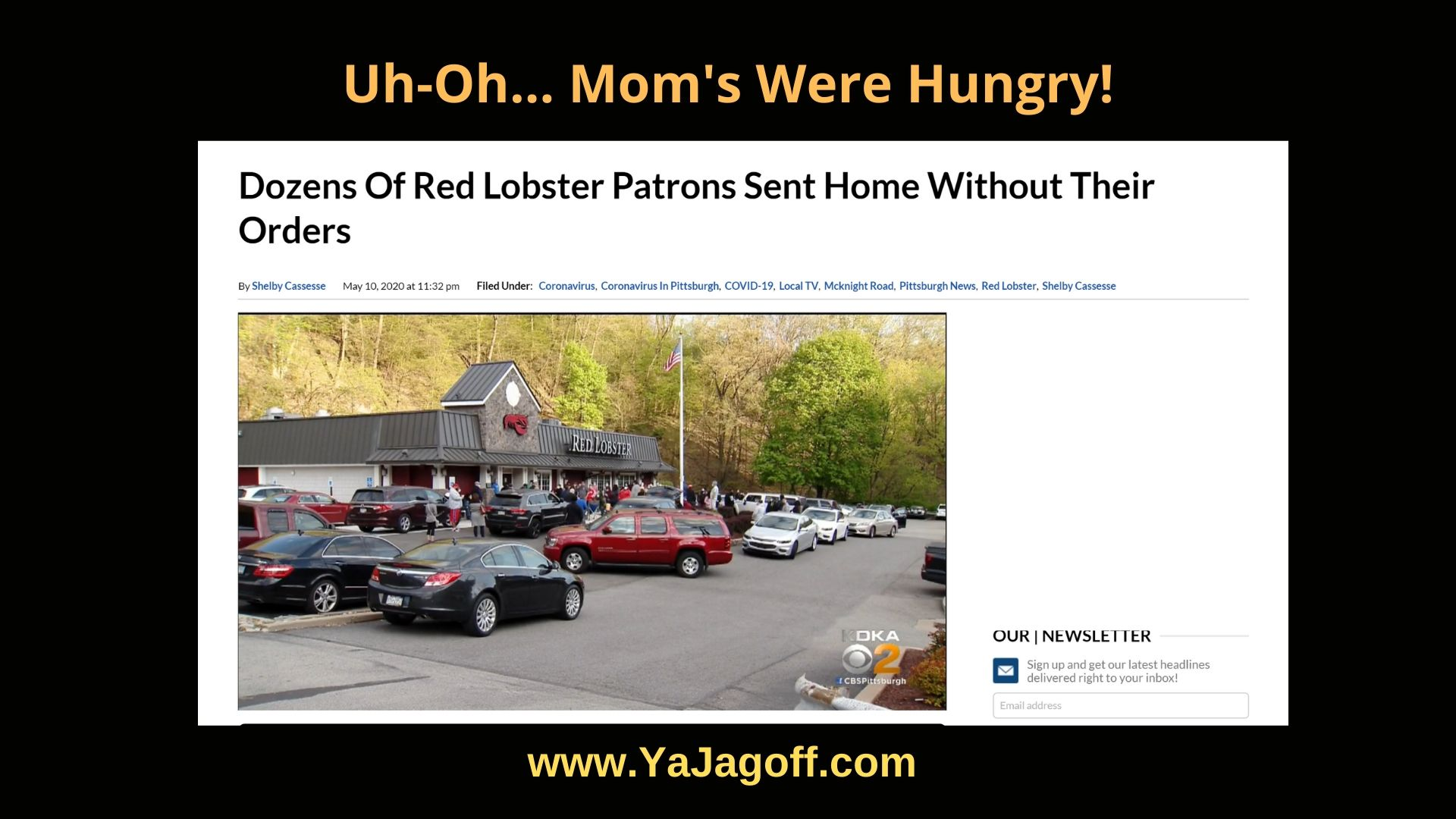 YaJagoff Blog Red Lobster
