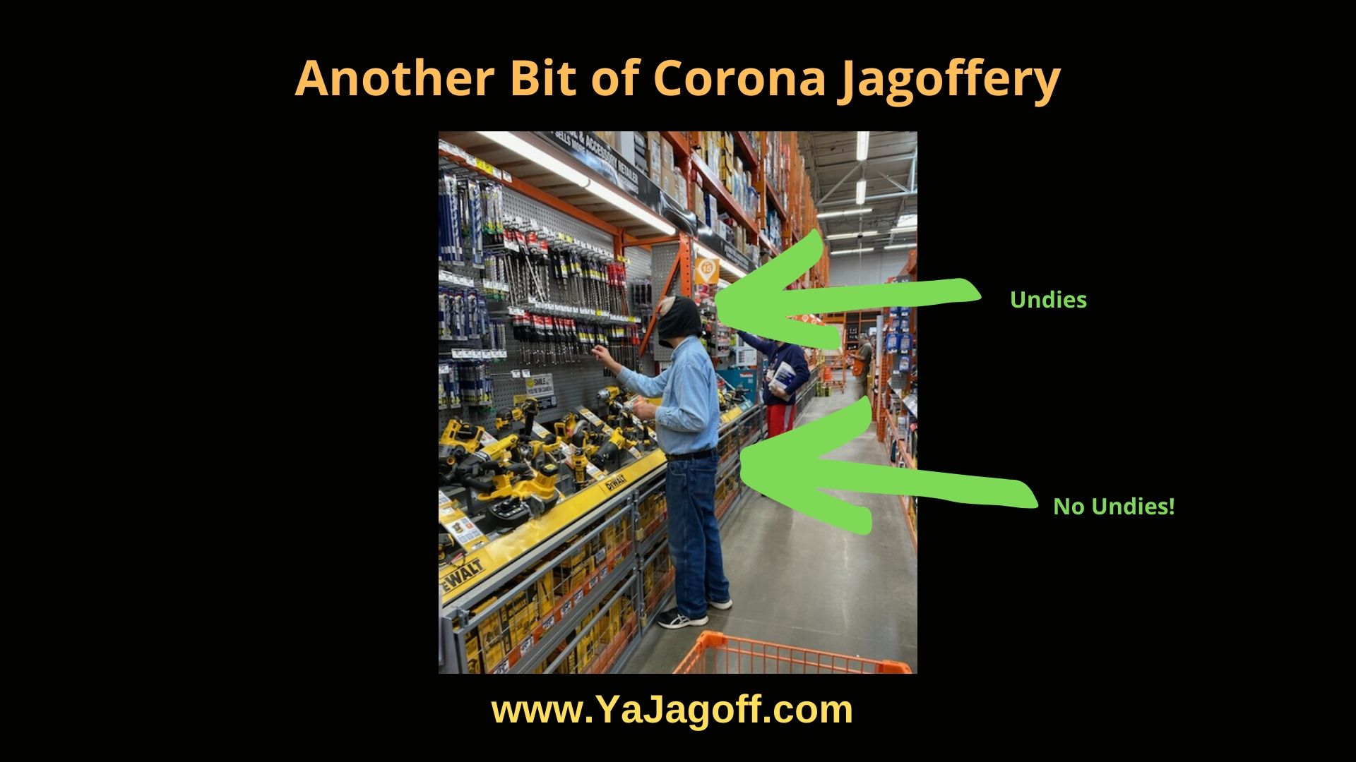 Coronavirus jagoffs YaJagoff Podcast