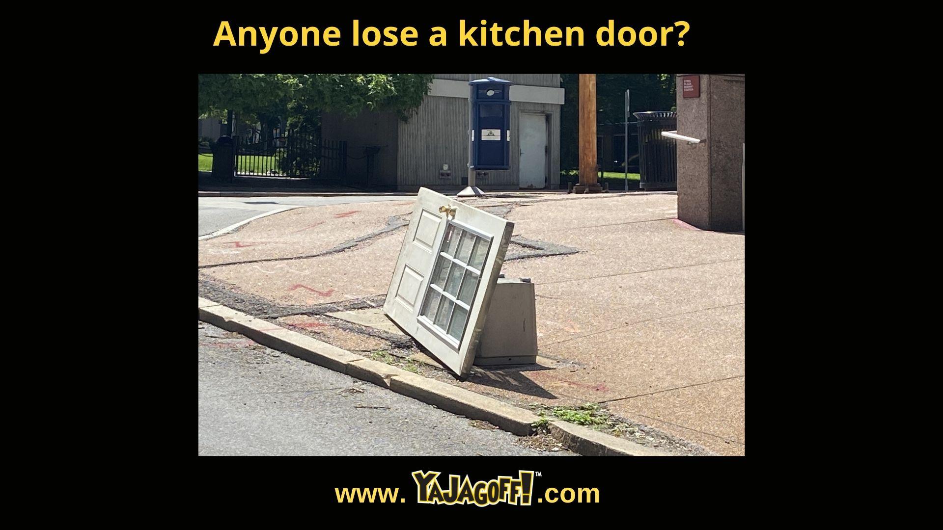 Pittsburgh Podcast Door in Street