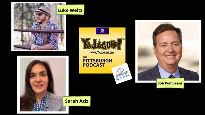 Pittsburgh Podcast Collage Bob Pompeani