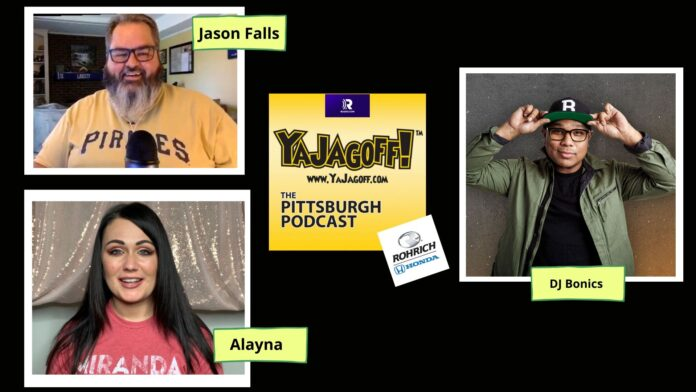 YaJagoff Podcast - Jason Falls and DJ Bonics