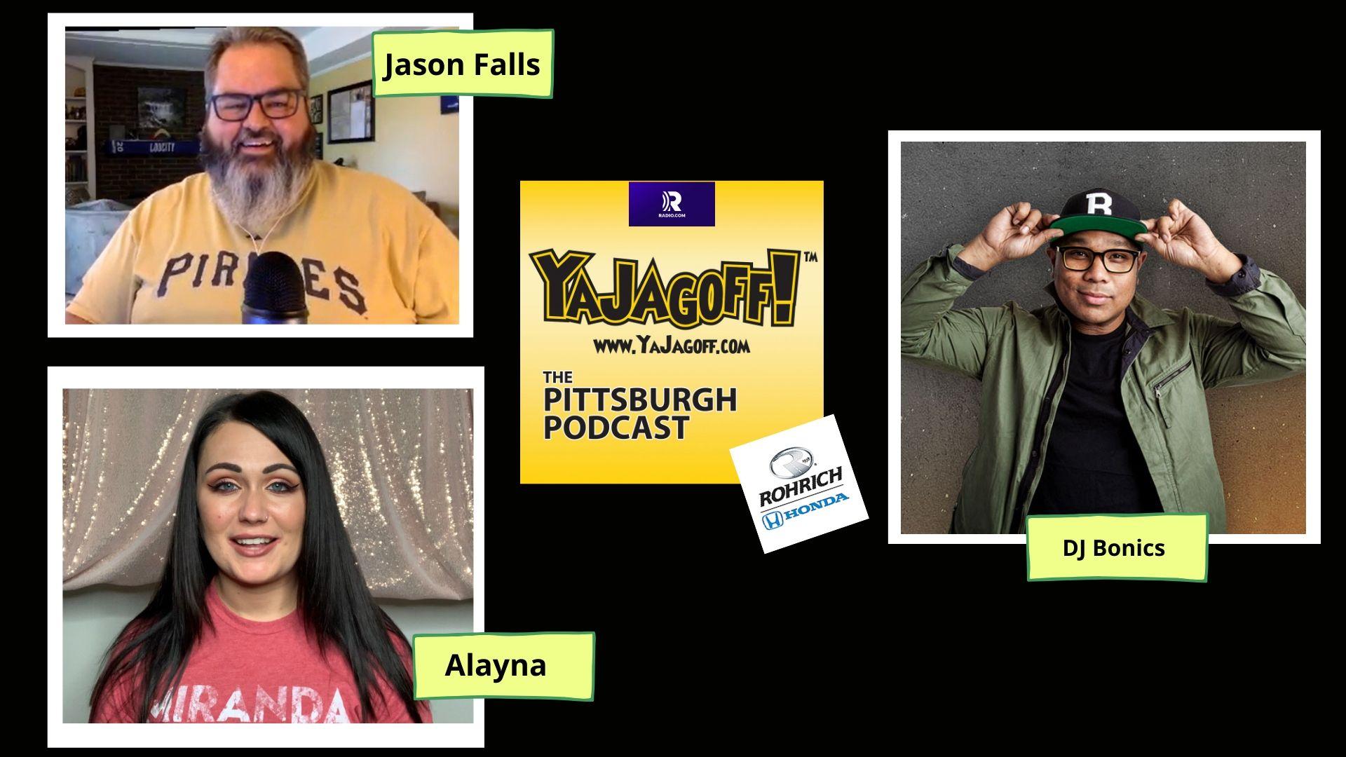 YaJagoff Podcast - Jason Falls and DJ Bonics