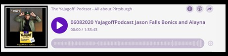 Player Bar yaJagoff Podcast