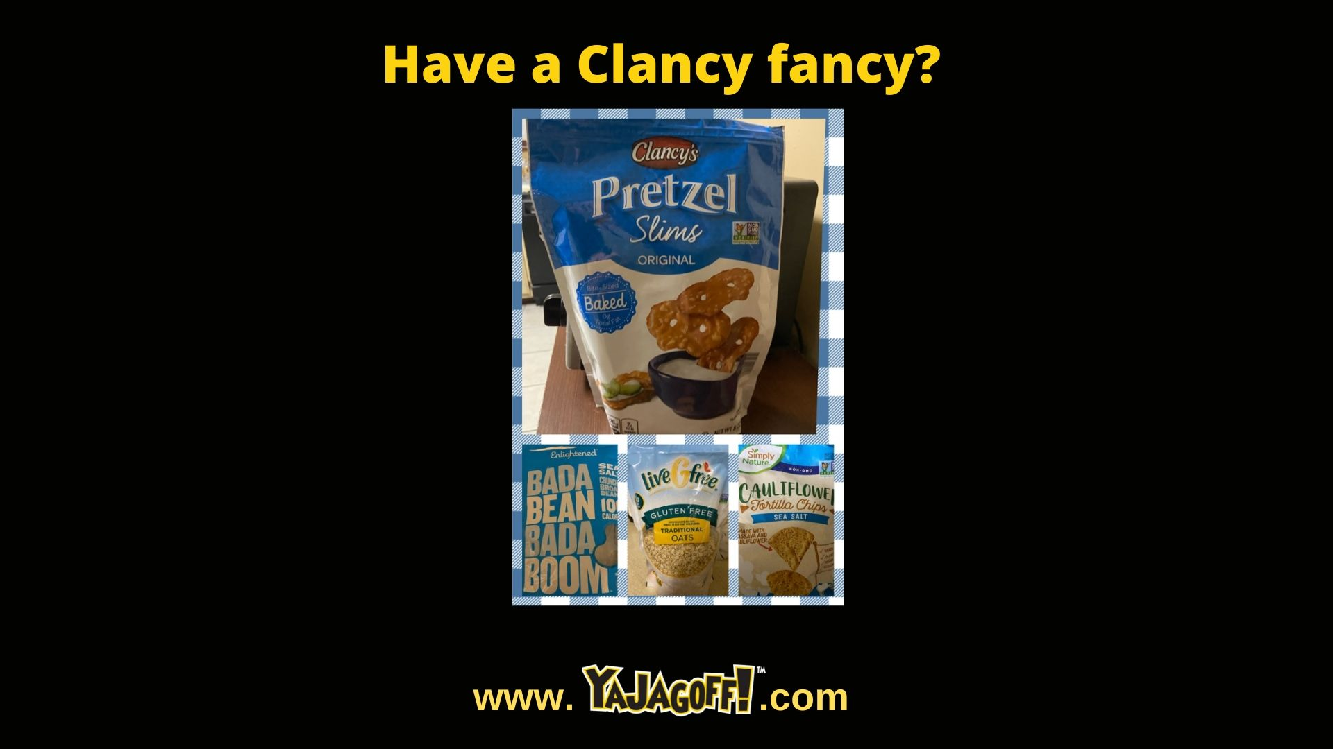 YaJagoff Blog covers Aldi's Clancy brand