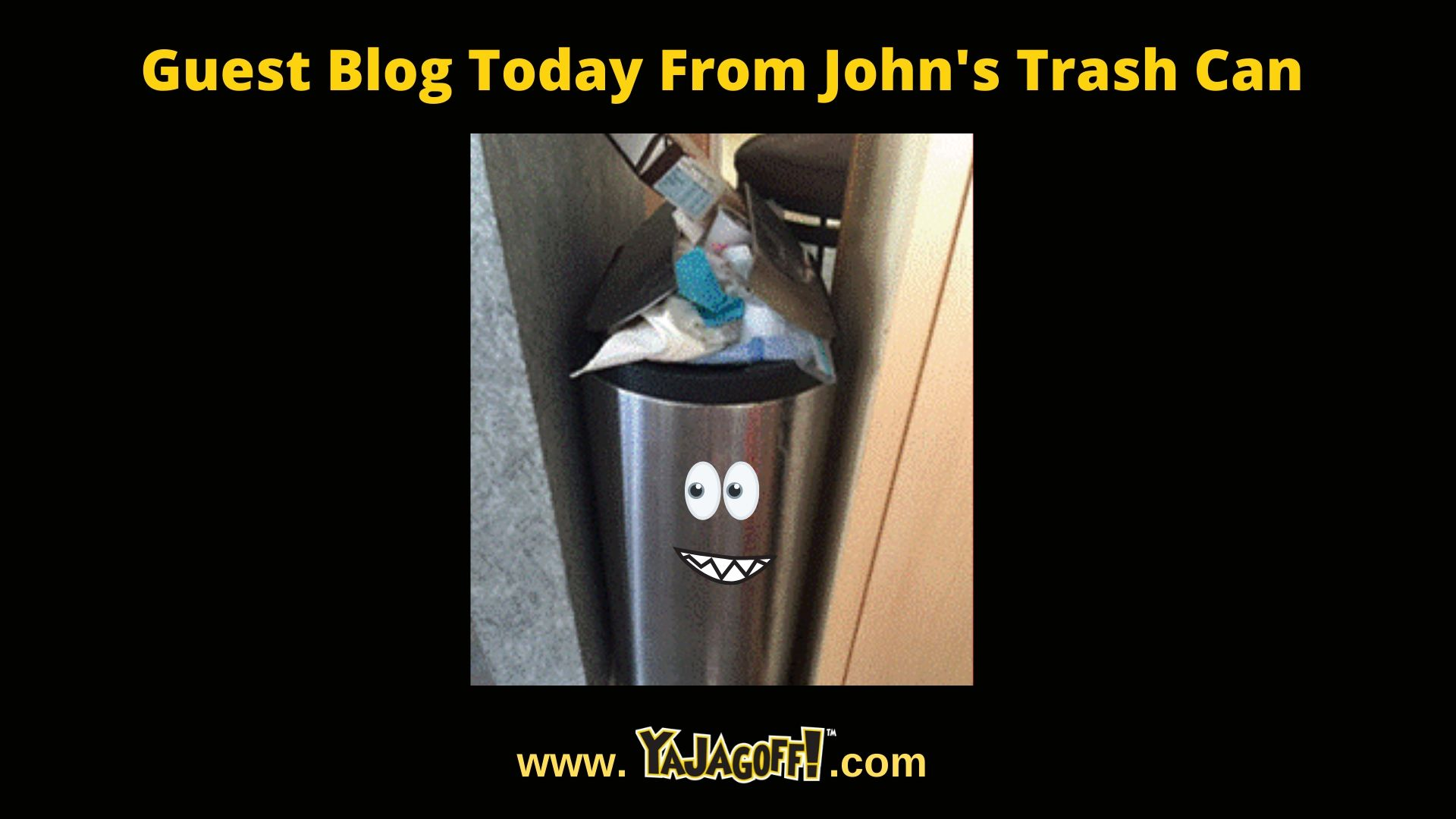 YaJagoff Podcast Garbage Can Photo