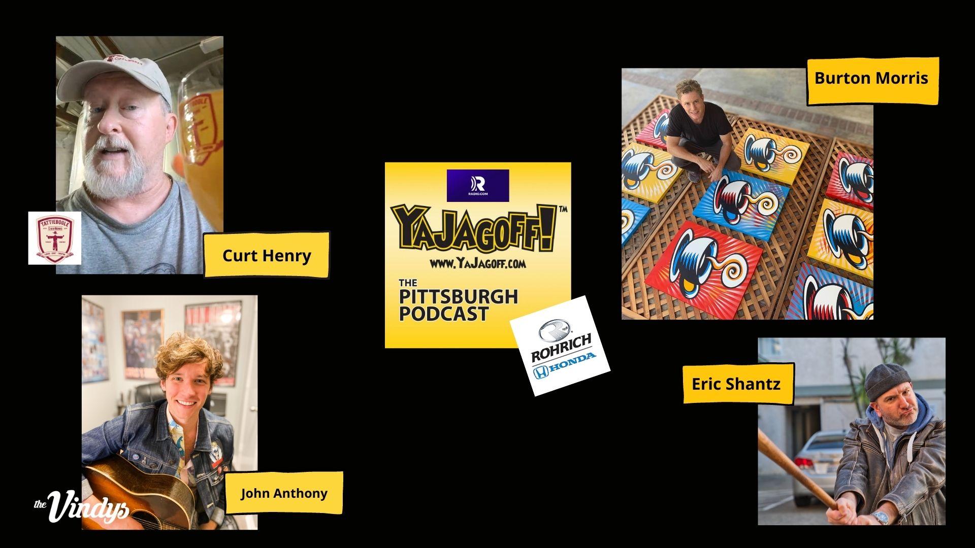 YaJagoff Podcast with Burton Morris