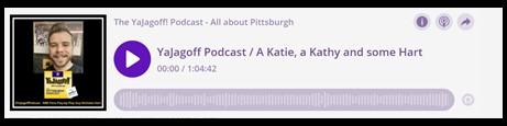 YaJagoff Podcast Player Bar Nicholas Hart