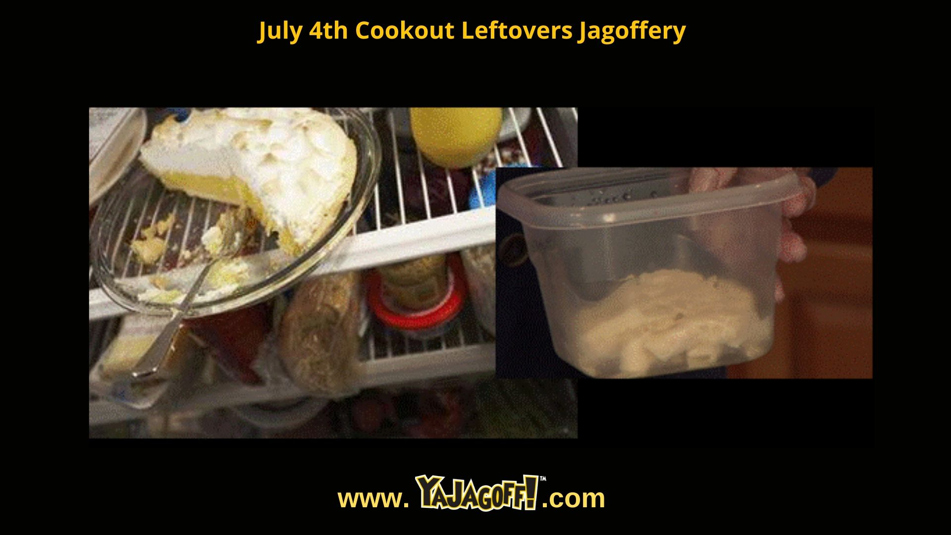 yajagoff.com and leftovers
