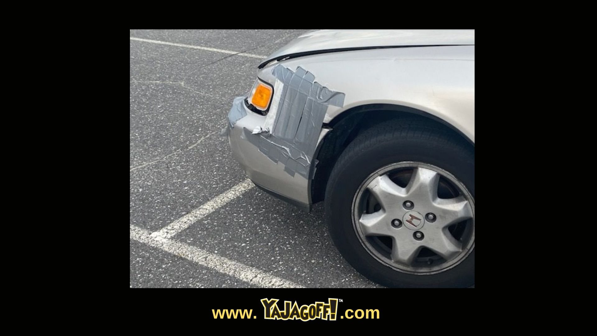 YaJagoff Blog and Podcast Car with Duct Tape
