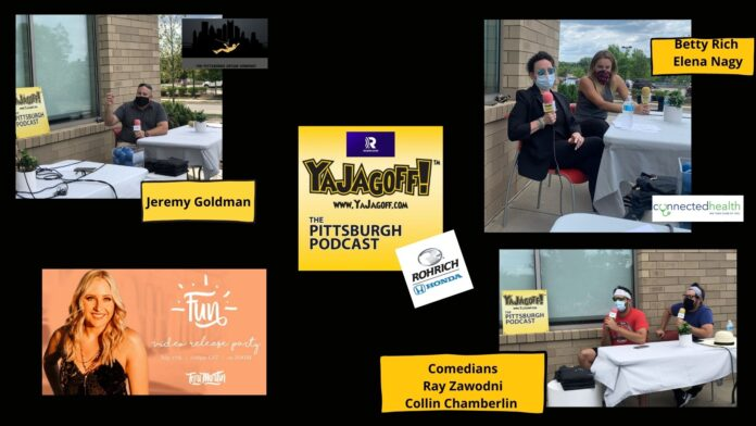 YaJagagoff Podcast Collage Photo at Conected Health