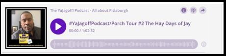 YaJagoff Podcast Player Bar Link